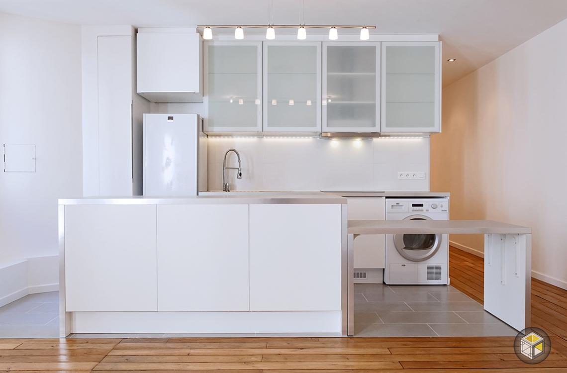 Blog semi open kitchen for Cuisine semi ouverte