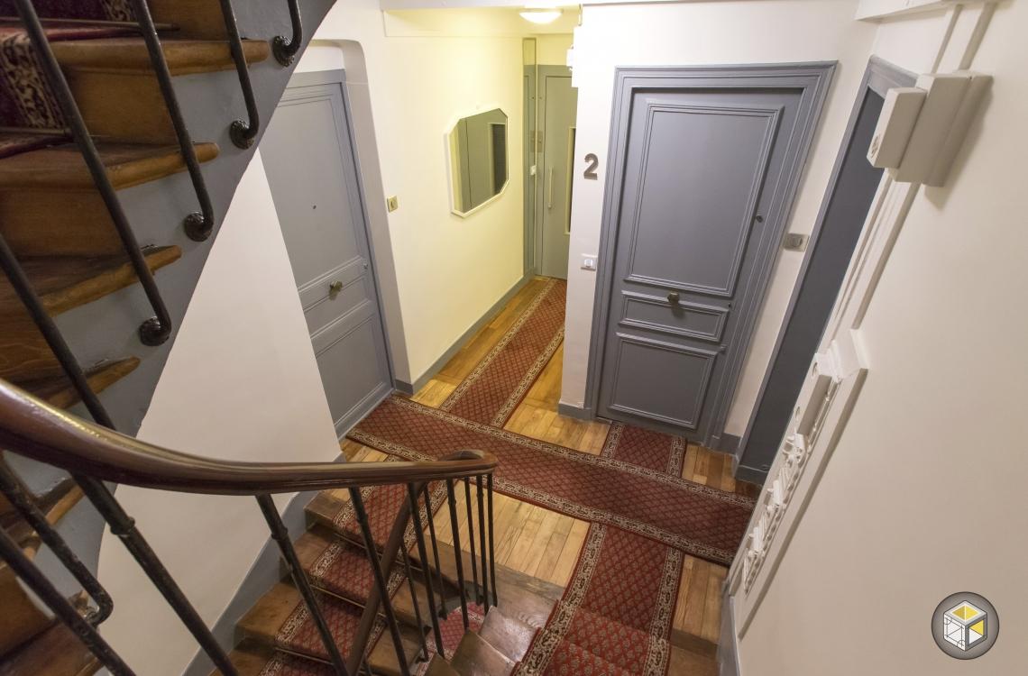 r novation cage d 39 escalier faubourg st honor r novateurs r novateurs. Black Bedroom Furniture Sets. Home Design Ideas