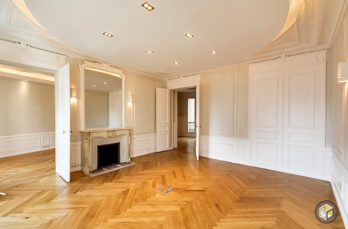 Agencement bureau paris r novateurs for Rosace plafond design