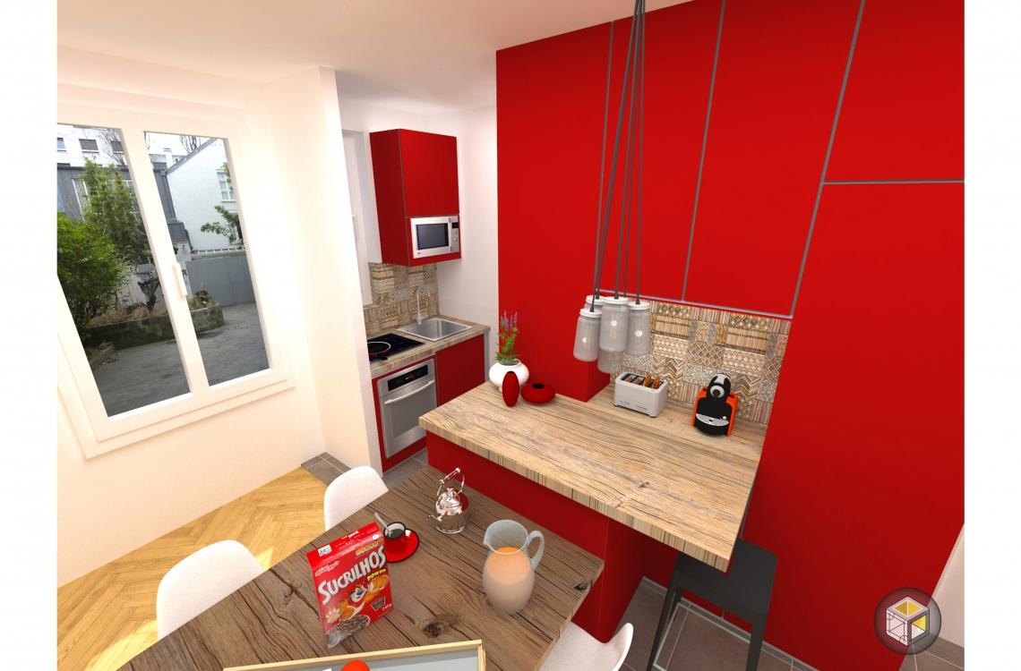 pose cuisine ouverte toute quip e paris r novateurs r novateurs. Black Bedroom Furniture Sets. Home Design Ideas