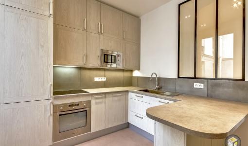 Cuisine équipée appartement travaux rénovation