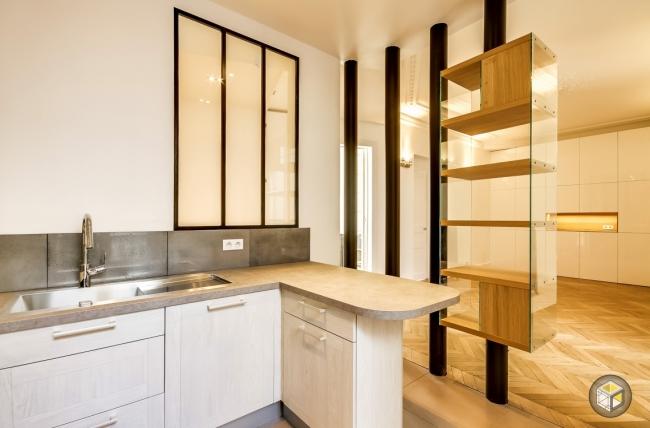 BLOG Semiopen kitchen