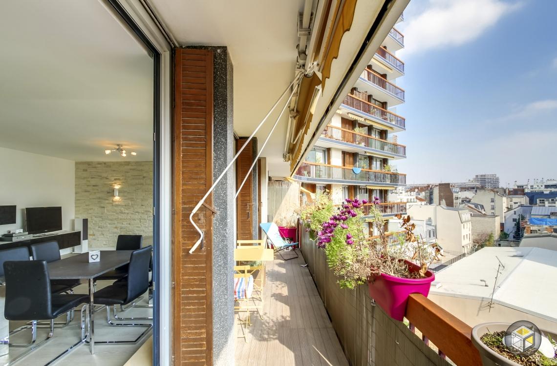 balcon extérieur immeuble