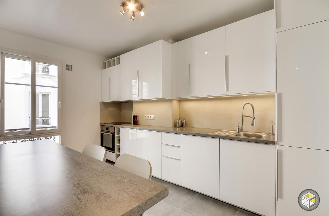 r novation compl te appartement raspail 4 r novateurs. Black Bedroom Furniture Sets. Home Design Ideas