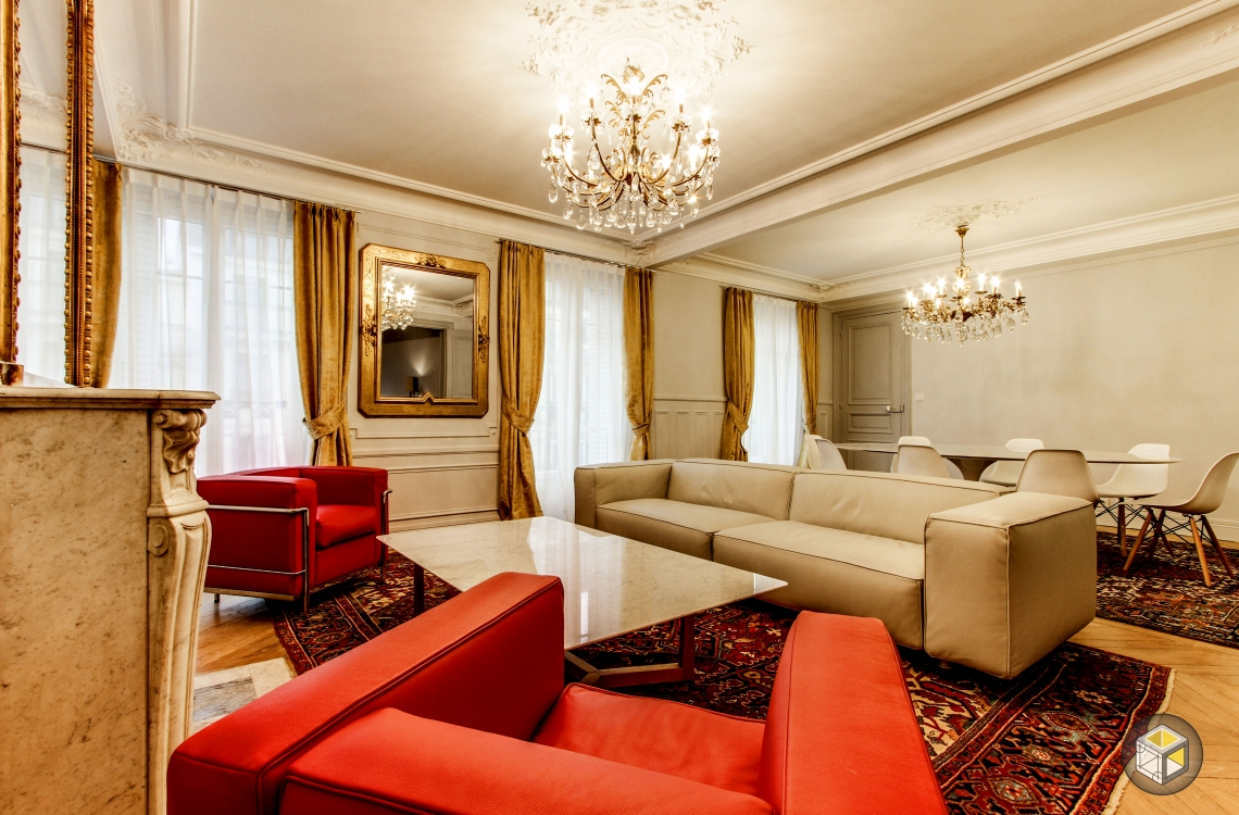 rénovation salon paris