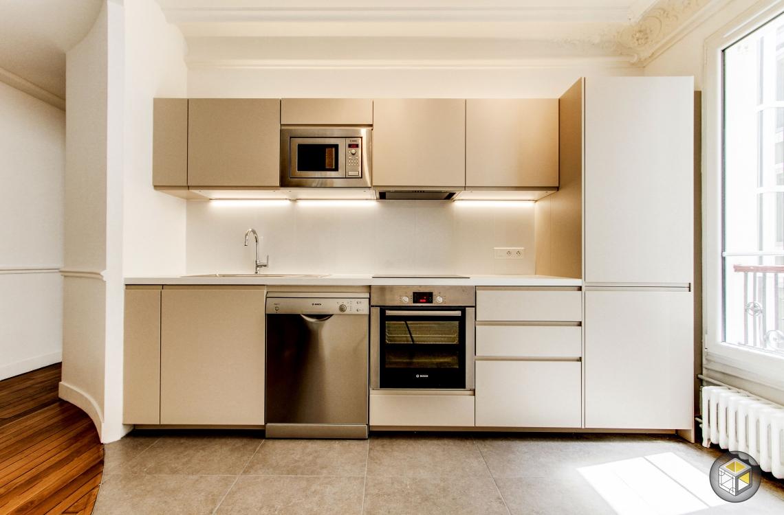 cuisine paris appartement