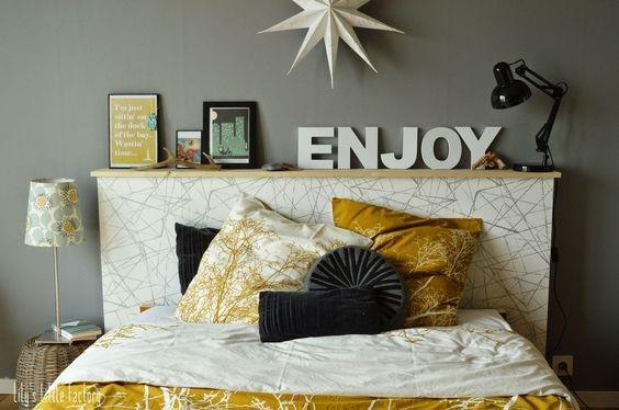 Créez Vousmême Une Tête De Lit En Papier Peint Rénovateurs - Customiser un cadre de lit